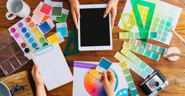 Ajuste de programas de dibujo vectorial en diseño gráfico
